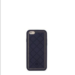 NWT Tory Burch IPhone 6 Marion Perf Case